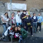 La prima iniziativa del progetto Retake Rome