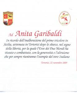 Anita Garibaldi a Tortorici