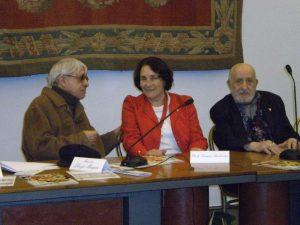 Anita Garibaldi riceve il Premio Rigetto 2010 da Gigi Magni e il giornalista Aldo Chiarle