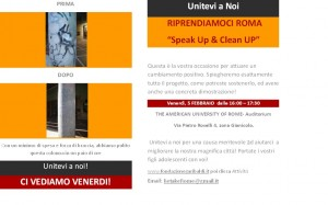 Incontro a: The American University of Rome