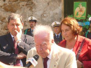 Il sindaco di Siracusa, l'avv. Corrado Piccione e Anita Garibaldi
