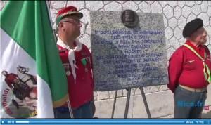 Video della Cerimonia di Consegna della Lapide a cura di Nice.fr TV